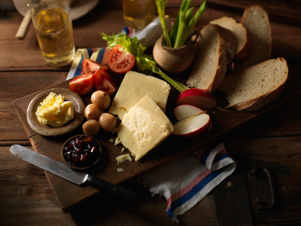 Traditional English Ploughman's