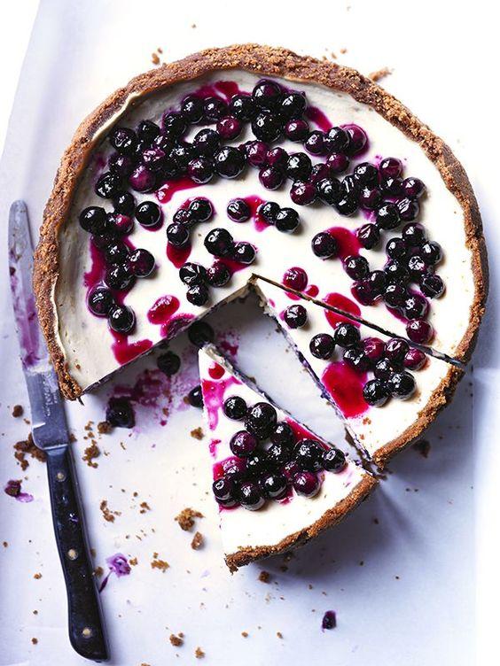 blueberry cheescake recipe