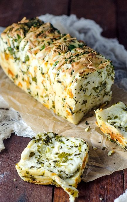 garlic herb and cheese recipe