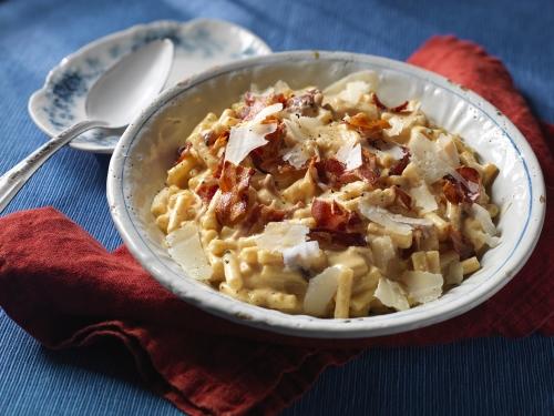 gourmet bacon macaroni cheese recipe