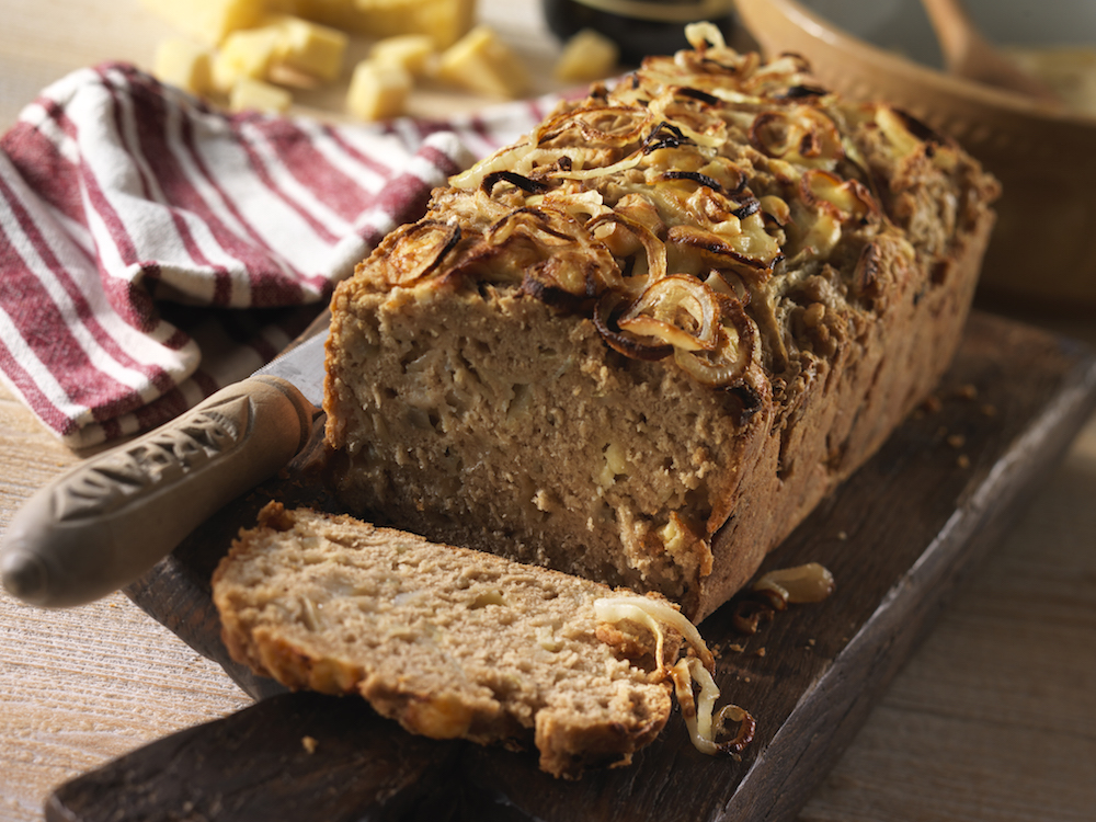 Cheddar and Beer Bread Loaf
