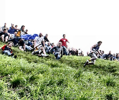 Coopers Hill Cheese Rolling Event