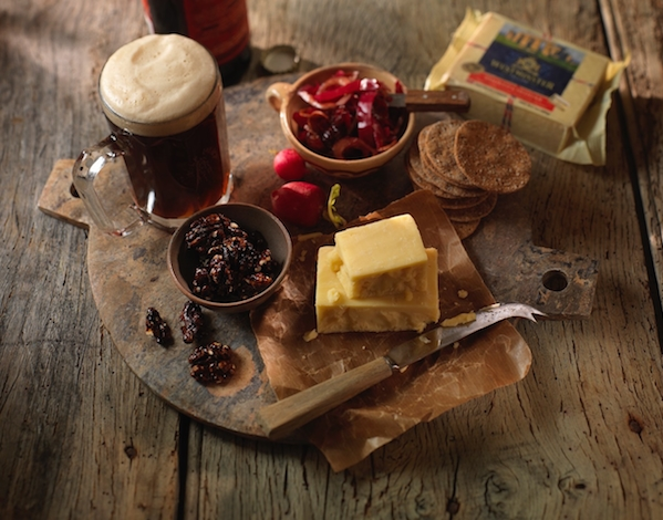 Beer-loving Cheese Board