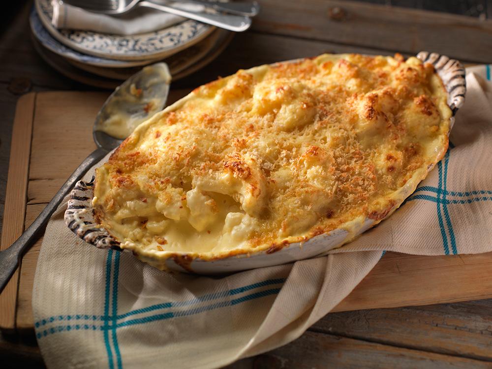 Cheesy Cauliflower au Gratin