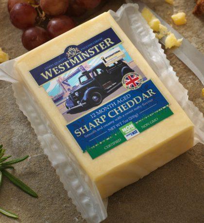 Non-GMO Sharp Cheddar Cheese