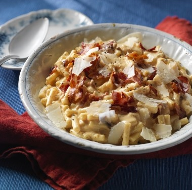 gourmet bacon macaroni cheese recipe