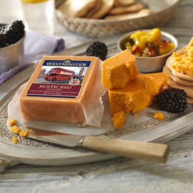 Rustic Red Cheddar Cheese - Westminster