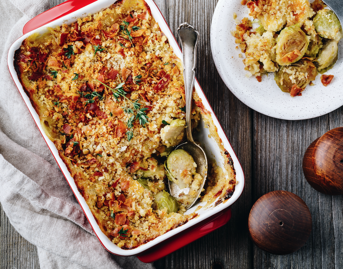 Westminster's Gratin with a difference